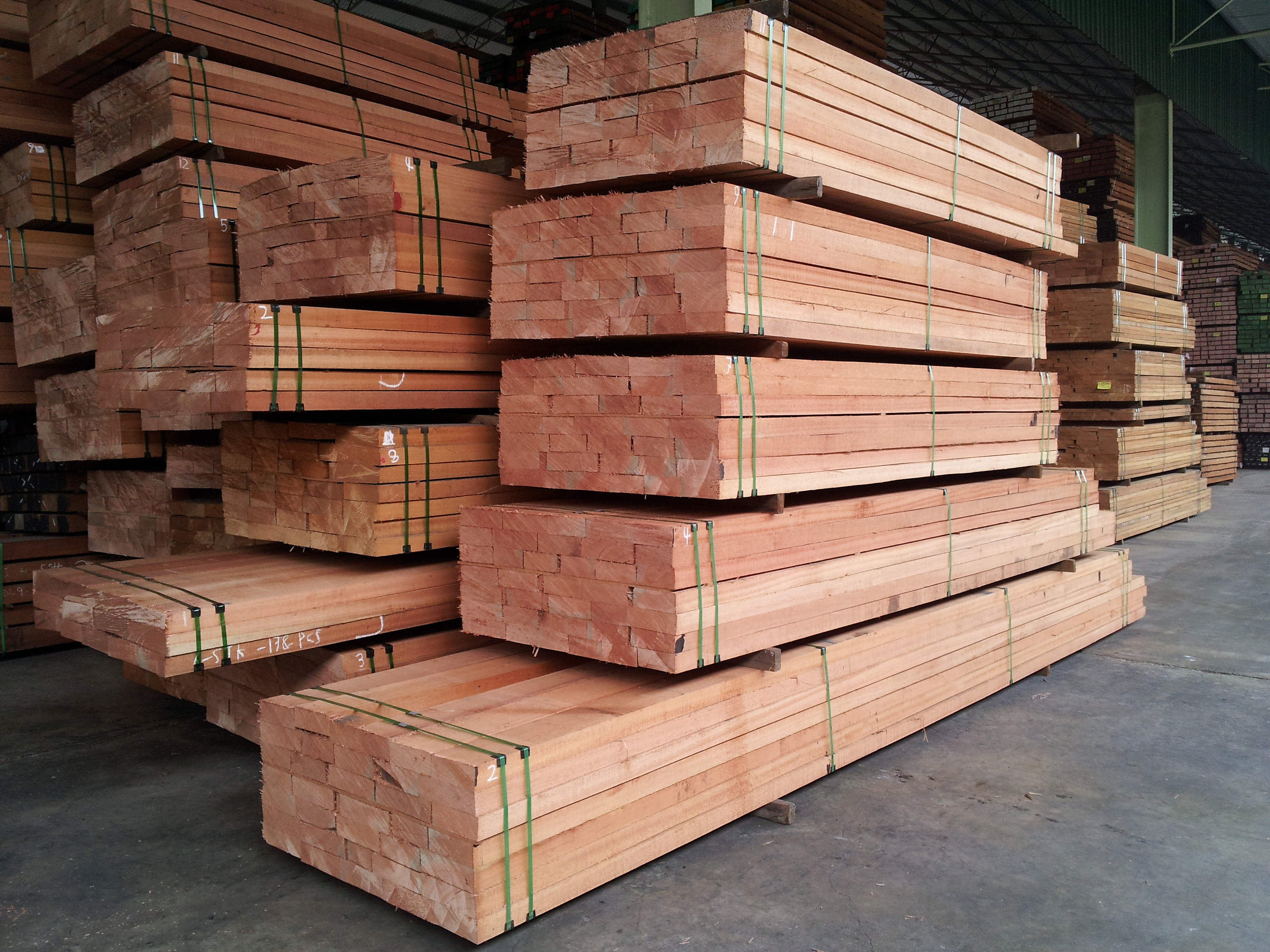 Imported Hardwood Lumber ~ Timber arora